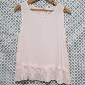 Pink feminine top by Merona